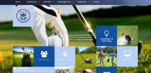 Nieuwe site PGA Holland
